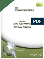 Using R Commandeer for Data Analysis