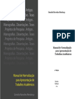 Manual Para Normatização de Trabalhos Acadêmicos UNIFACS