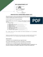 Protocolo Personalizado EFT