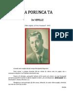 70934895 Neville Goddard La Porunca Ta 1939