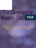 Genetics of Anxiety Disorders The