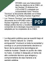 Sobre la APCNEA y la Política Nuclear Argentina - E. Maqueda