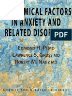 Biochemical Factors in Anxiety and Related Disorders