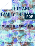 Anxiety and Family Therapy - Michael d Zentman Phd