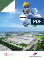 Annual Report 2014 PT Impack Pratama Industri Tbk