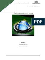 Trabajo Politica Energetica Brasil