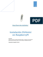 DV4mini - Instalación en RaspberryPi