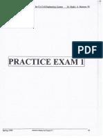 Surveying Exams Part 1
