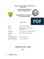Informe de Elaboracion de Fideos