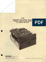 TM100-1 TM100!2!48TPI Operating and Service Manuals 1983