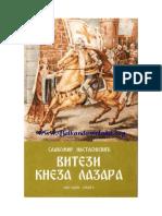 Slavomir Nastasijevic - Vitezi Kneza Lazara