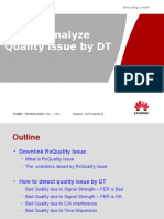 How to Analyze Quality Issue by DT