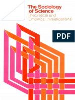 The Sociology of Science Theoretical and Empirical Investigations