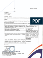 Intimation of Sale of Subsidiary Company - Kishore Exports India Private Limited [Company Update]