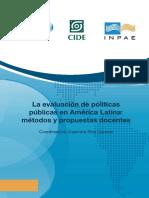 La Evaluación de Políticas Públicas en América Latina - Métodos y Propuestas Docentes Pp. 1-46