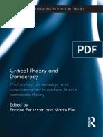 Arato Crítica Teoría Democratica
