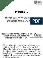 Modulo 1 Identificación de Sustancias Químicas