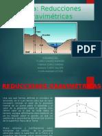 reducciones gravimetricas