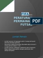Peraturan Permainan Futsal Untuk Technical Meeting