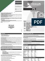 Manual Caixa Ativa Frahm PS