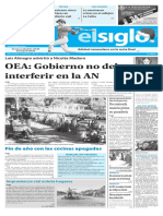 Edición Impresa Elsiglo 28-12-2016