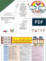 Brochure Pendaftaran Tahun 1 Word