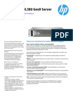 HP ProLiantDL380 DataSheet