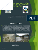 Erosión y Socavación de Cauces