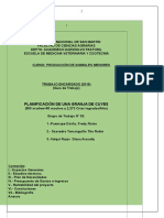 Planificacion de Granja de Cuyes