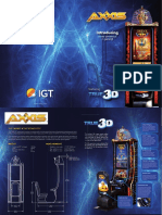Cabinet AXXIS Brochure IGT