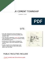 Case Study on malabar cement township