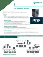 ES Fanox TD SIC-A Gateway-Protocolos-Redundancia