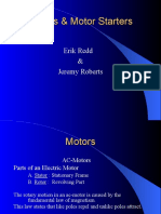 Motors and Motor Starters