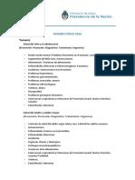 Temario Con Bibliografia Examen Unico 2016 Actualizado 27012016