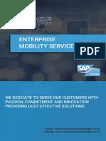 Endeavour Mobile App Brochure
