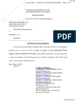 Blaszkowski et al v. Mars Inc. et al - Document No. 385