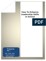 How to Enhance Leadership Skills in School