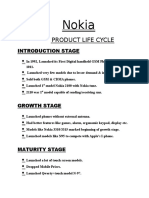 Nokia - Product Life Cycle
