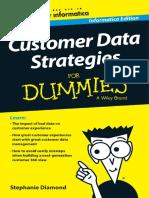 Customer Data Strategies for Dummies
