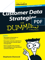 Customer Data Strategies for Dummies