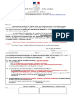 Lettre Relance Inscription 2016