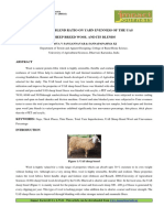 7.App Effect of Blend Ratio on Yarn Evenness of the UAS Sheep Breed Wool and Its Blends