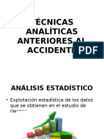 Técnicas Analíticas Anteriores Al Accidente