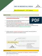 APPSC Economy in Medieval India PDF
