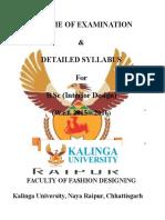 Kalinga University B.sc Interior Design