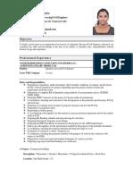 Asha Resume