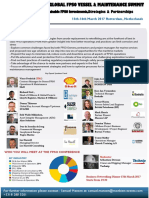 THE GLOBAL FPSO VESSEL & MAINTENANCE SUMMIT