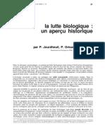 La Lutte Biologique Un Aperçu Historique INRA