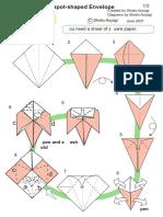 Kotori Teapot origami chaleira