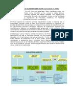 Exportacion de Minerales No Metalicos en El Perú
